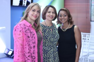 Esther Ramos, Dareyba Ferreira y Yenny Figueroa
