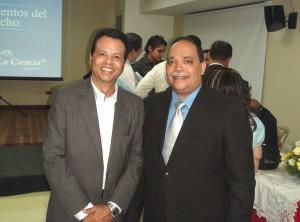 Franklin Abreu y Alberto Moronta.