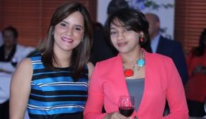 Laura Rojas y Elizbeth Mercado