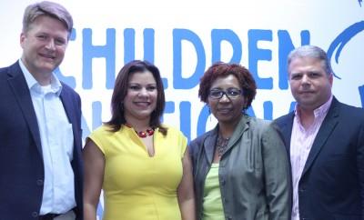 Paul Hooper, Sofia Betances, Cecilia Corporan y Rafael Mejia