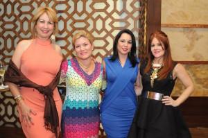 RCV_2544_Evelyn Chamah,Michelle Selman, Sandy Pou de Fernandez, Helen Andujar de Brache