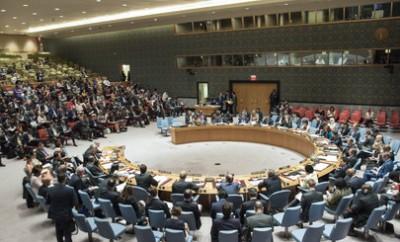 Reunión del Consejo de Seguridad