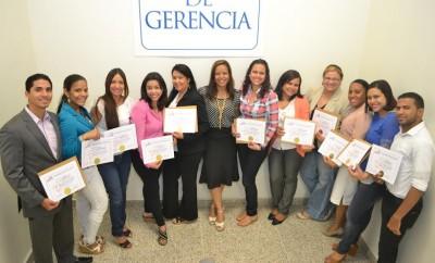 UNICDA. Grupo de estudiantes certificados.