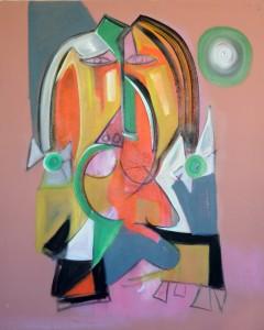 Una delas obras del artista Pablo Palasso