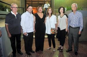 2.-Emmanuel Valet, Jose Berlanza, Maria Ditren, Angelita Lasaccio, Altagracia de Gomez y Wilson Gomez