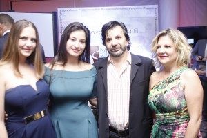 Alicia Tarrazo, Sara González, Rafael De la Fuente y Alicia De la Fuente
