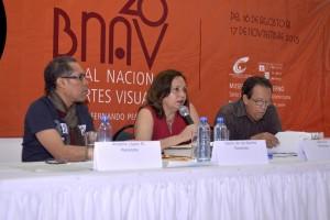 Amable López Meléndez, Laura Gil y Danilo de los Santos.