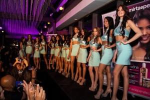 Candidatas al Miss RD US 2015