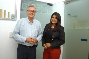 Dr Julio de Peña Valle y Francina Socias