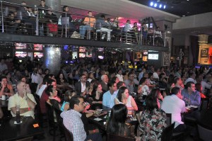 Hard Rock Café a casa llena disfrutando del show de Kuquin y Boruga