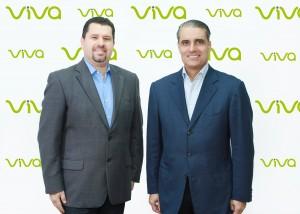 Mario Campos y George Brache durante la actividad