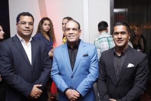 Miguel Franjul, Rafael Reyes Bisonó y Aneury Reyes.