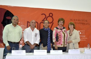 Noé Zayas, Juan Sánchez, Amable López Meléndez, Marianne de Tolentino   y  Purísima de León de Guerra