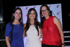 Paola Bonetti, Yoelis Rosario e Irina Lora