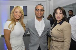 2 Tilcia Santana, Reynaldo Rincón y Milta Guzmán.