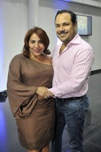 3 Cynthia Disla y Manuel Valerio.