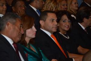 5. Primera Dama de la Republica junto a Rafael Ovalles disfrutan presentacion artistica