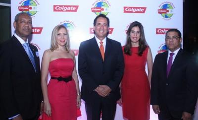 Dr. Norberto Puello, Irma Mauriz, Bernal Saborio, Cristina Valdivieso, Adolfo Rodríguez