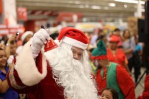 Foto 2 - Santa Claus y personajes de la Navidad.