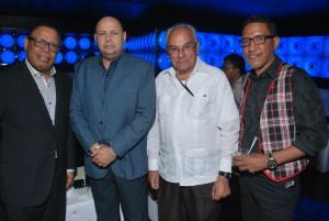 Joseph Caceres, Jorge Ramos, Napoleon Beras y Diomelo Martinez