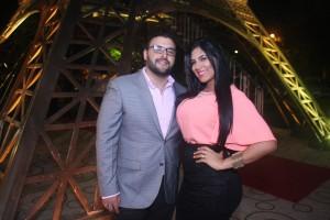 Miguel Lora y Yarinet Gomez