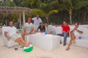 Milvio de Soto, Peter Garrido, Cledy Cordoba, Salvatore Bonarelli, Francis Selman y µlvarez3