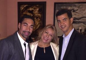Nina Torres, Oscar Abreu e Ydanis Rodríguez