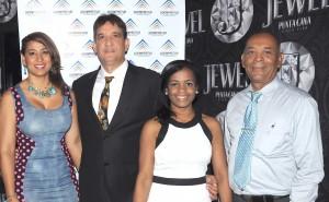Yenny Polanco Lovera, Carlos Silva, Millizen Uribe y Elpidio Tolentino (2)