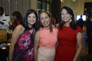 Carmelina de Herrera, Sandra Jimenez y Maria Teresa Tomas