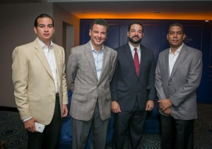 Erick Castano Juan Manuel Brenes Paino Henriquez Y Jacinto Vasquez - Foto- JohnMcFarlane.com