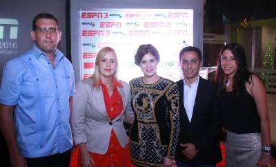 Fafo Garcia, Olga Casanova, Carolina Padron, Gustavo Huesta y Veronica Garcia