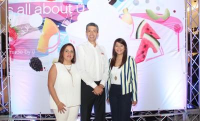 Foto 1 - Carolina Pantaleón, Luis Fernando Enciso y Laura Pérez.
