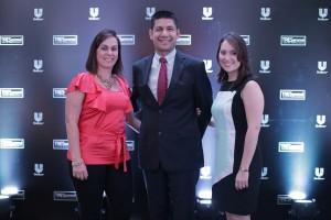 Foto 4 - Nora León, Fernando Moreno y Claudia Hernández.