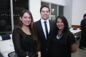 Gabriela  Diaz, Farid Attias y Yadira Castillo. 2