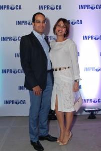 Ignacio Araujo  e  Ingrid Petitón