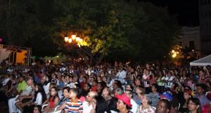 Público que asistio al Colonial Fest 2015