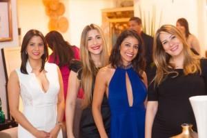 Paola Molina, Tania Puig, Jessie Muñoz y Monica Ceballos