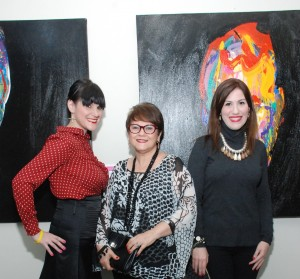 Patricia Cocco, Minerva Cocco y Maureen Cocco