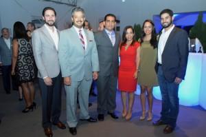 Refidomsa. Foto 6- Gerardo Simon Feria, Carlos Liriano, José Bautista, Massiel Sención, Melinne Pared y Miguel Feliz.