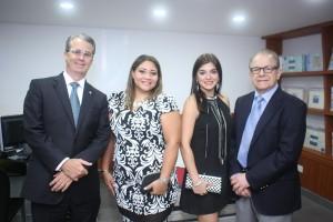Rene Grullon, Rosa Marmolejos, Maricarmen Attias y Juan Jose Attias. 2