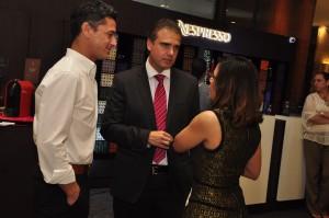2 Gamal Hache, Rafael Torres y Sharlyn Rodriguez