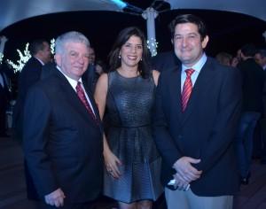 Abraham selman, Ingrid Debes y Alberto Debes