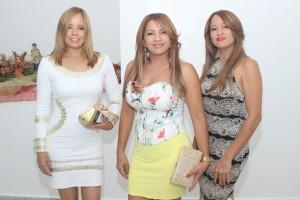 Ana Quezada, Marisela Quezada y Felicia Quezada