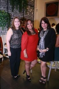 Carol Castillo, Ivette Cantisano y Michelle del Pino