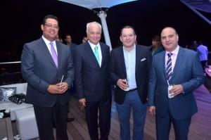 Eddy Ureña, Rafael camilo, brahim selman, samir rizek (Copiar)
