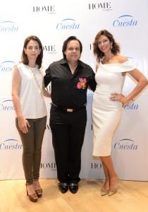Foto 1A - Isabel González Cuadra, Leonel Lirio y Candy Lara.