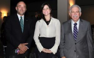 Foto 3 - Fidelio Despradel, Lexy Collado y Luis Molina Achécar.
