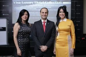Foto 4 - Cesarina Durán, Livingstone Mirabal y Sarah Viñas.