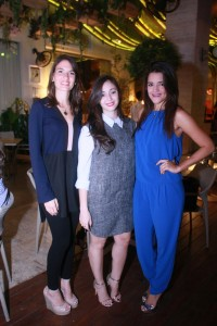 Gianna García, Larissa Yabra y Kiali Rodríguez (2)