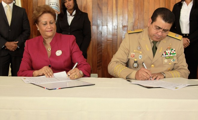 Instituto nacional de migraci n rd firma acuerdo de for Ministerio de migracion
